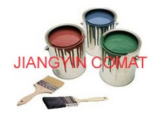 La lata de pintura